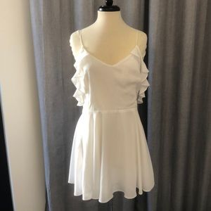 Lucy Love White Meet The Family Dress